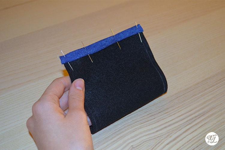 DIY couture - Wesh à Laure - Biais épinglé