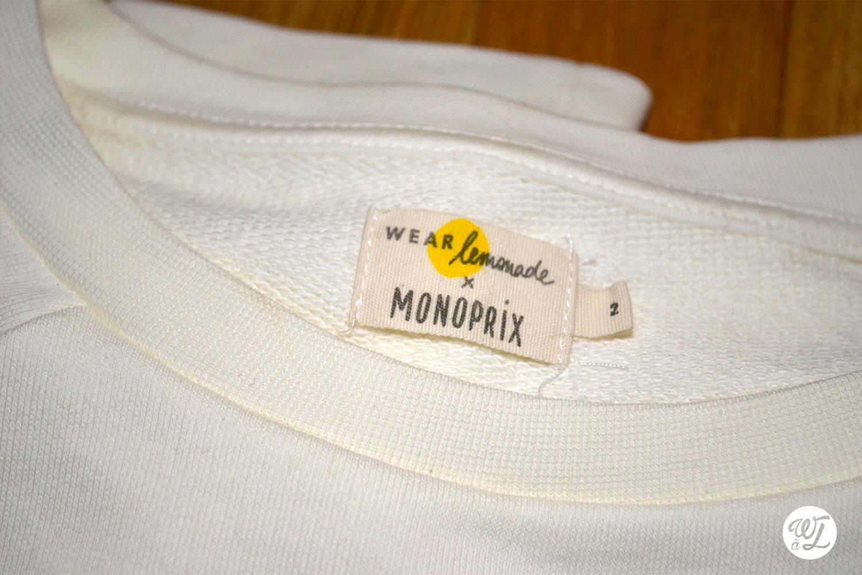 Pull de l'amour Wear lemonade x Monoprix