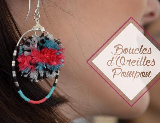 Boucles d'oreilles Pompon - couverture